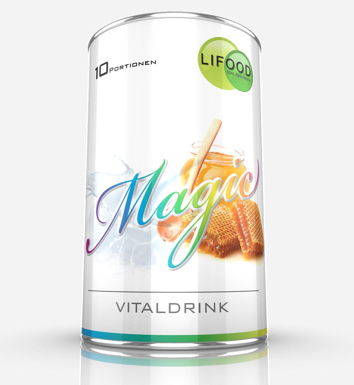 Lifood, Magic Vital Drink, Vitalkost und Mahlzeiten Ersatz, Gewichtsmanagement