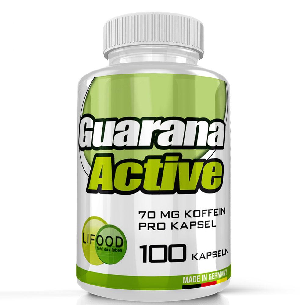 Lifood, Guarana ACTIV, 100 vegetarische Kapseln